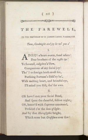 Poems, chiefly in the Scottish dialect > (235) Page 228 - Farewell
