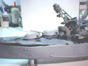 RC Warships with BB Gun