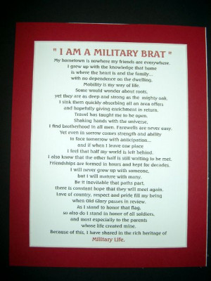 Army Brat Poem | silent ranks army spouse prayer army spouse only a ...