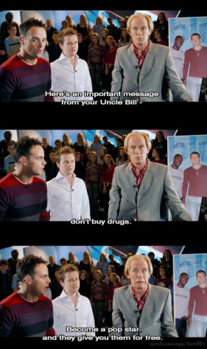 bill nighy, drugs, love actually, quote, subtitles