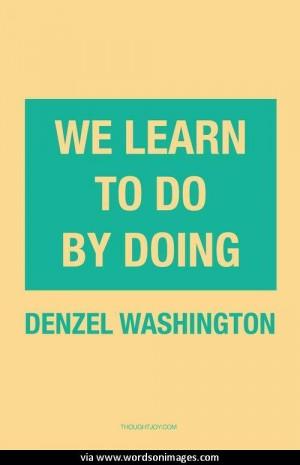 Quotes by denzel washington