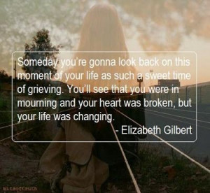 Sympathy quotes, meaningful, sayings, look back