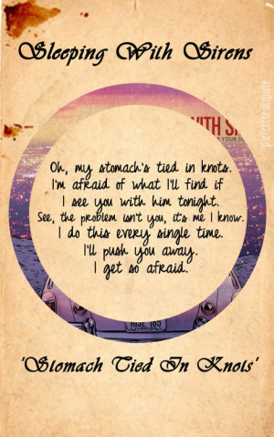 Stomach Tied in Knots | Sleeping with Sirens