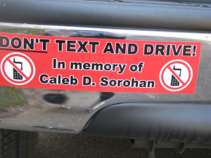 No Texting While Driving Quotes (while driving.)