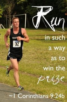 Winning a race requires purpose and discipline... As Christians we are ...