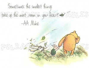 Classic Winnie the Pooh and Piglet Card - Instant Download - 3 PDFs. $ ...