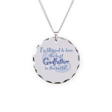 Blessed Godfather BL Necklace Circle Charm for