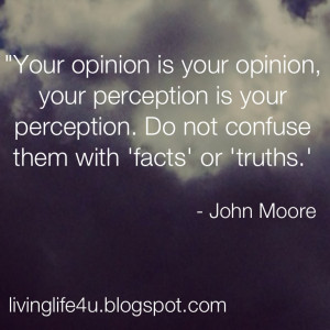 Is Your Perception Your Reality?