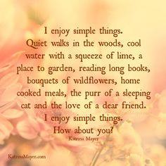 Circle of Simplicity