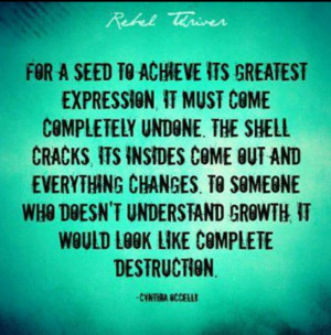 Growrh. Seed. Quote