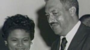 Thurgood Marshall Vivian Burey