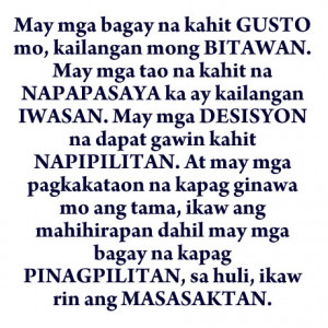 Collections of Tagalog Love Quotes Online :