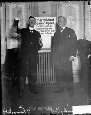 Charles H Thomas president of the Chicago Cubs and Charles Comiskey