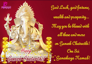 good luck good fortune wealth and prosperity may you be