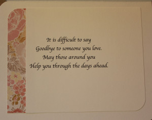 ... Card Horsemark Message On Funeral Flowers Img Greeting Sayings Ideas