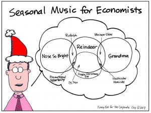 To see more economic cartoons and quotes full of holiday humor, you ...