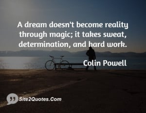 Inspirational Quotes - Colin Powell