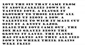 my evil poem by yokokuramaluver