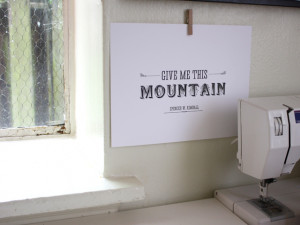 ... this mountain