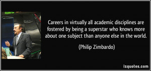 Careers in virtually all academic disciplines are fostered by being a ...
