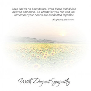 ... together. With Deepest Sympathy – FREE Sympathy Cards For Facebook