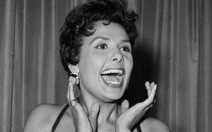 Jazz singer Lena Horne in the 1950s Photo: AFP
