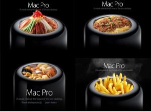 用Mac Pro吃飯也太豪華了 (圖片來源: Appleちゃん ...
