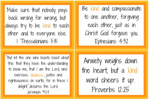 ... along on the scripture memory verses. Here's the next installment