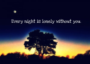 every, night, pretty, quote, sun, sunset, text, tree, typography, you