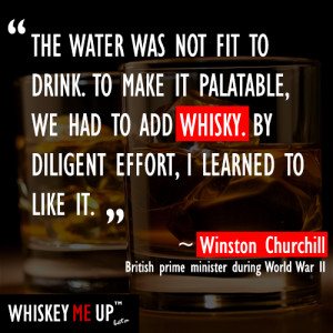 Winston Churchill Whisky Quote
