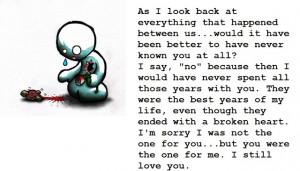 Im Sorry I Hurt You Poems