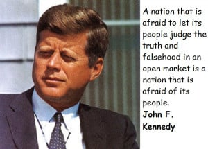 quotes of john f kennedy