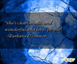 charismatic quotes follow in order of popularity. Be sure to ...