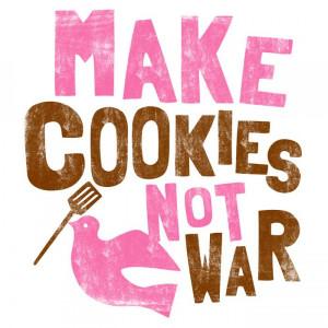 ... & Hoodies Cookie Decorating T-Shirts & Hoodies Make Cookies Not War