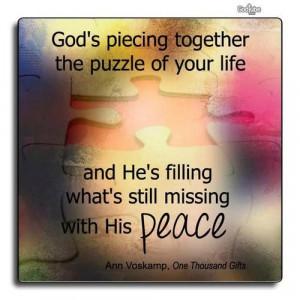 God's peace Tumblr