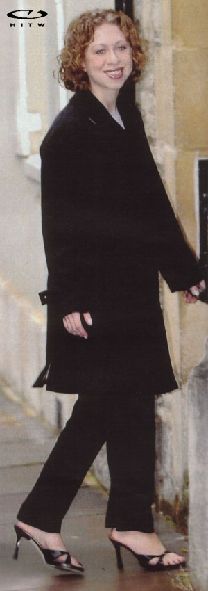 Chelsea Clinton Feet