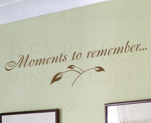Memory Memories And...