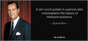 zen couch potato is a person who contemplates the nature of ...
