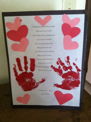Guest Post* Valentine's Day Handprint Poem!