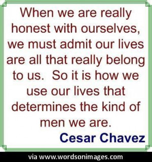 Quotes by cesar chavez