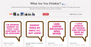 DUNKIN DONUTS QUOTES image gallery