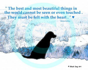 Labrador quote print