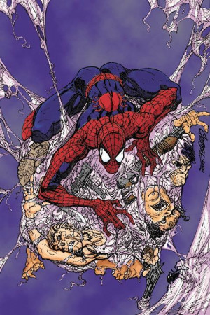 an irradiated spider's bite. Selfish at first, after his Uncle Ben ...