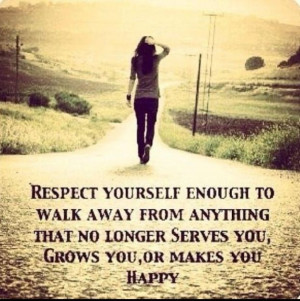 walking away walking away respect yourself enough to walk away