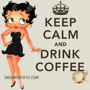 Betty Boop Good Morning Coffee