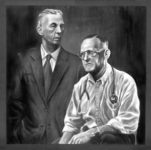 Bill Wilson and Dr. Bob Smith painting December 50% Sale