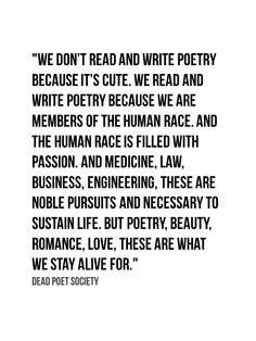 13. Poetry is alive