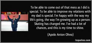 More Apolo Anton Ohno Quotes