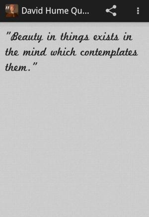 David Hume Quotes - screenshot