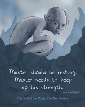 Gollum My Precious Quotes